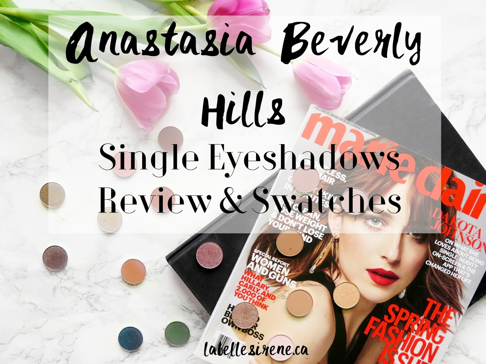 Makeup Royalty | Anastasia Beverly Hills Single Eyeshadows | Review & Swatches | labellesirene.ca