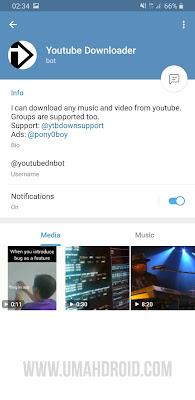 Bot Telegram Download Video YouTube