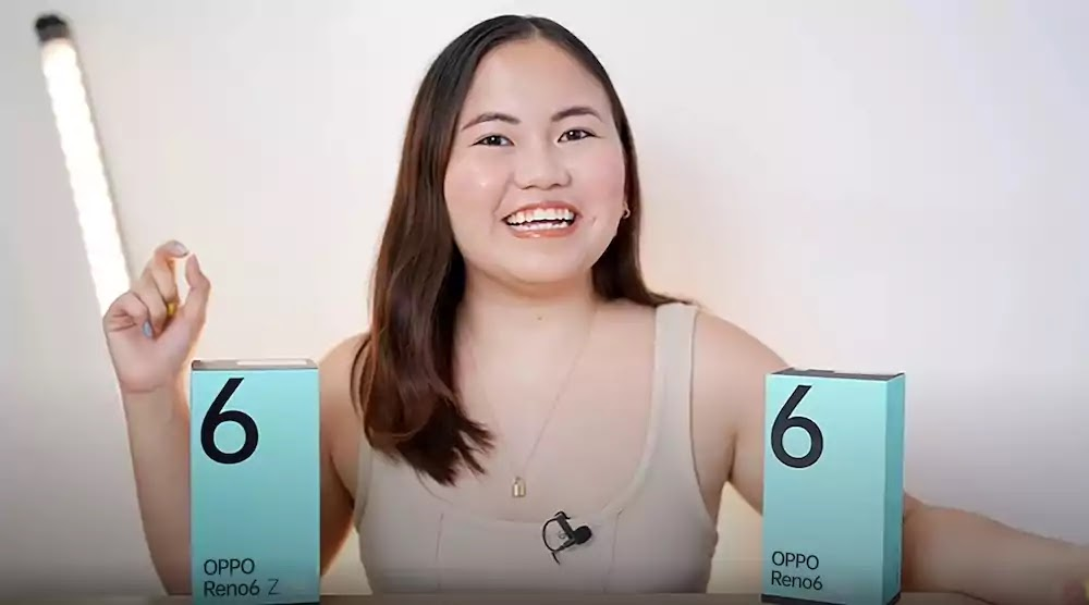 Youtube tech-content creator, Mary Bautista's Reno6 Series review