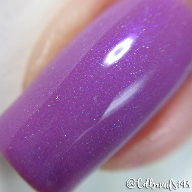Poetry Cowgirl Nail Polish-Grape Crush