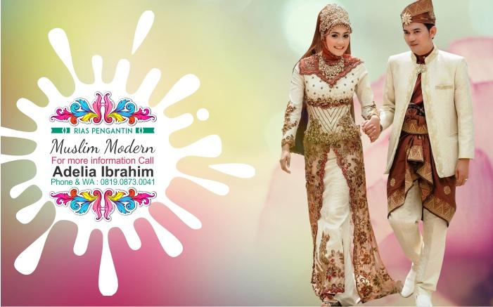 Rias Pengantin Muslim Modern Adelia Makeup