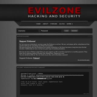 Situs Belajar Hacking hacker Gratis - evilzoneforum
