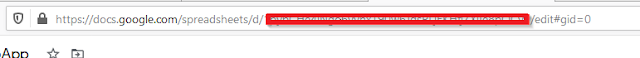 get Google  Spread Sheet id