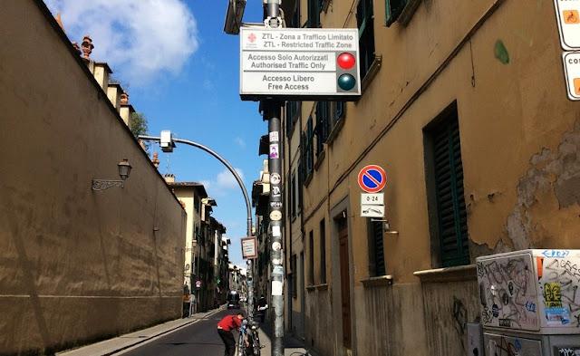 Dicas para dirigi rem Florença