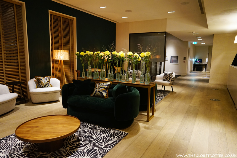 The lobby at The Resident Soho