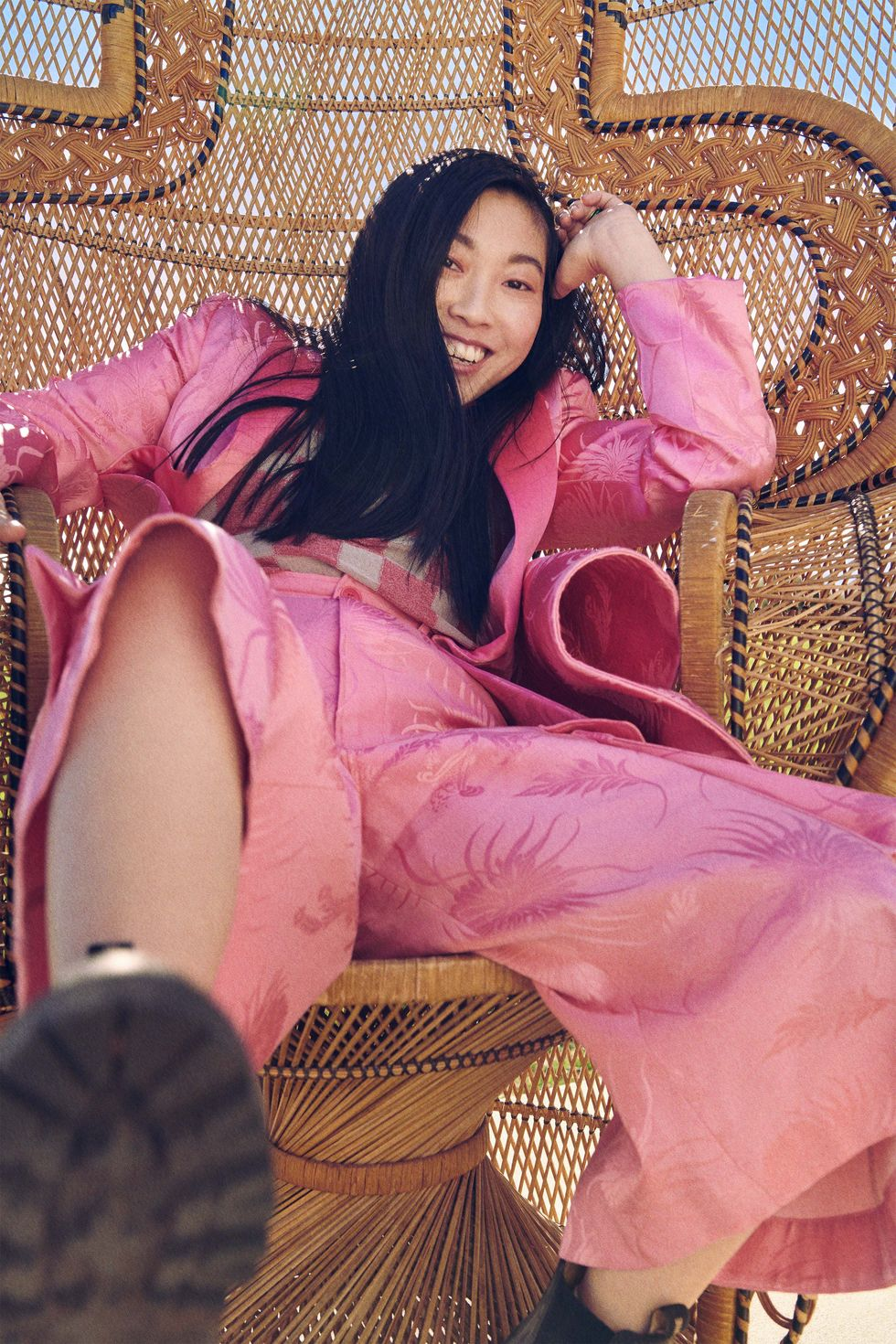 Awkwafina for Harper's Bazaar US February 2021
