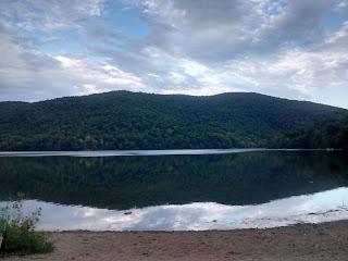 lac du parc Mont Saint-Hilaire
