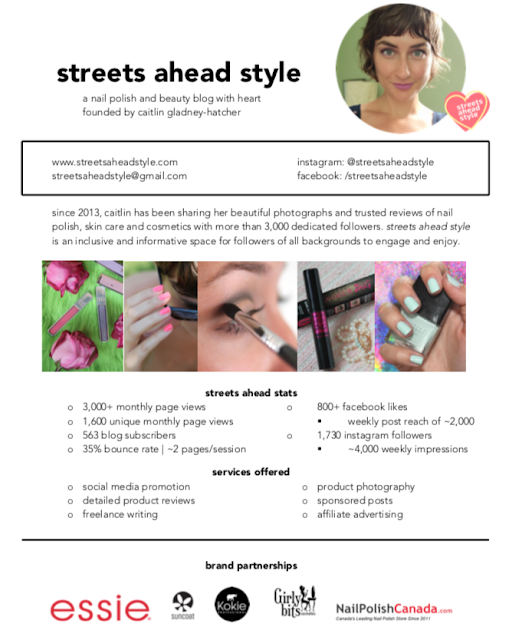 Streets Ahead Style Media Kit