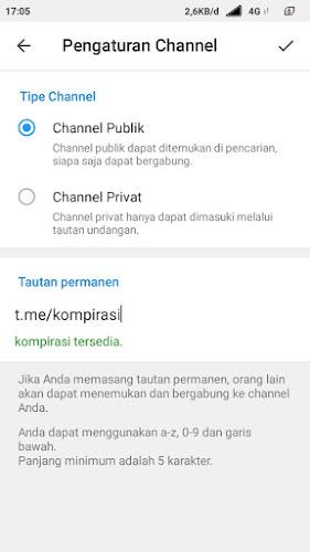Cara Membuat Channel Di Telegram (Terbaru & Mudah)