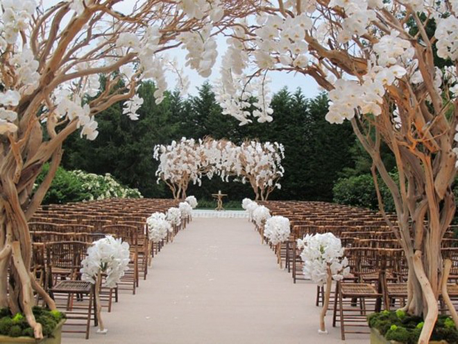 Simple Outdoor Ceremony Decorations: The Best Wedding Receptions And Ceremonies Of 2012