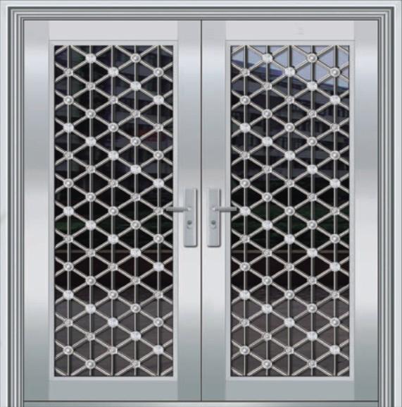 steel safety door design