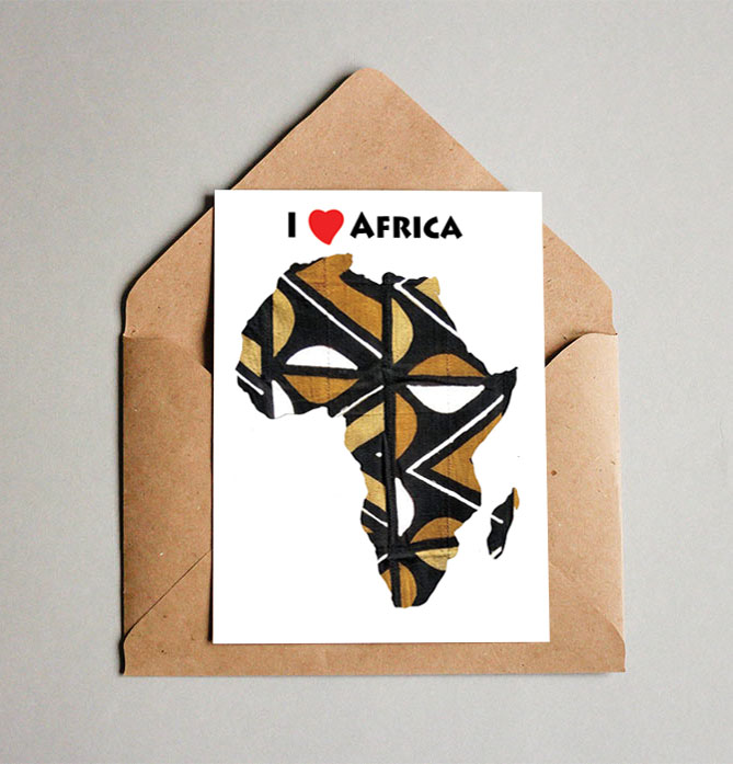 New African Themed Cards! $2 each