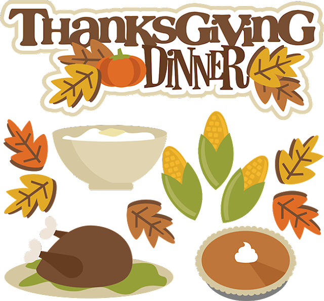 thanksgiving day cartoon clipart