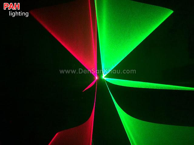 Hiệu ứng đèn Bicolor tia laser Red Green