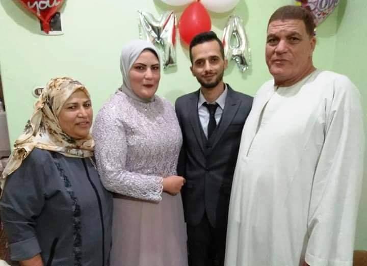 منازع يهنئ آل سلطان والزواوى بمناسبة خطوبة اية ومصطفى