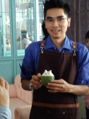 Chef Firdan Memamerkan 3D Art Coffee Giggle Box