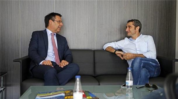 بارتيميمو يحسم مستقبل فالفيردي ويتحدث عن صفقات برشلونة