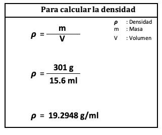 densidad