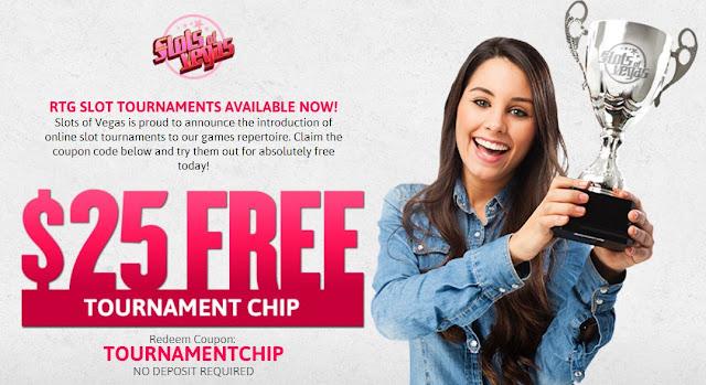 Tournament Chip | Slots of Vegas Casino