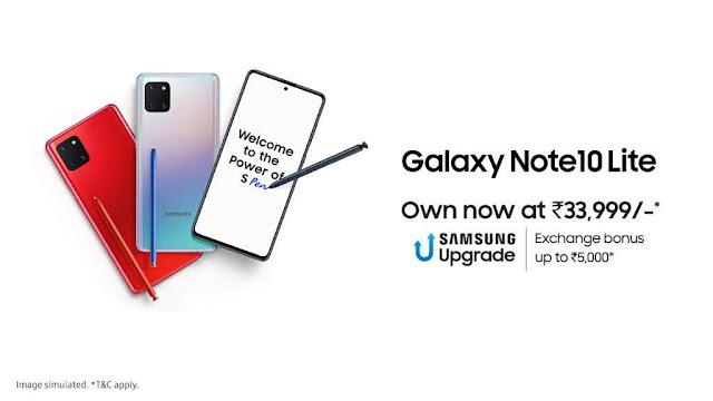 Samsung Galaxy S10 Lite Launch