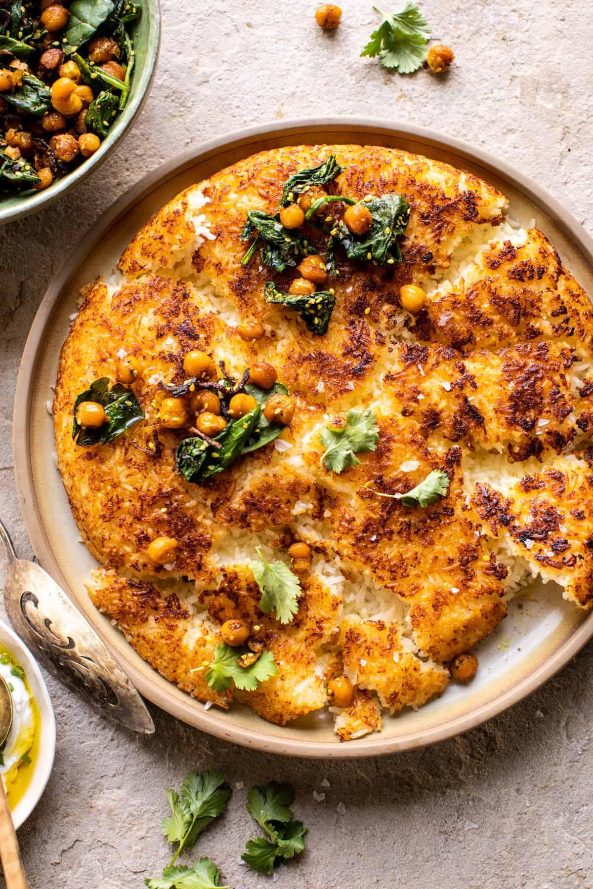 Half-baked Harvest Crispy Persian Rice