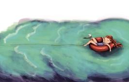 Contratapa Mi amigo el mar