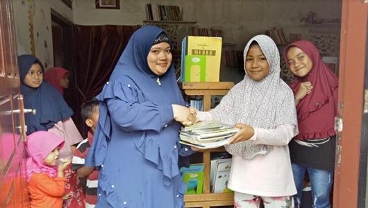 Sry Eka Handayani Tanamkan Nilai-Nilai Keislaman di Literasi RBAN