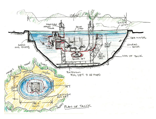 Plan of the The Deep BUS from Terry Ackland-Snow