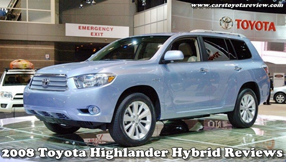 2008 toyota highlander hybrid reviews cars toyota review. Black Bedroom Furniture Sets. Home Design Ideas
