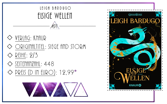 [Rezension] Eisige Wellen - Leigh Bardugo