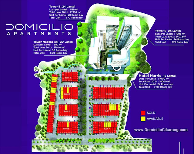 Tower A Domicilio Apartments Cikarang