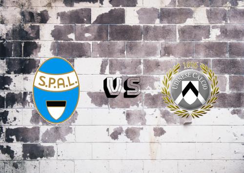 SPAL vs Udinese  Resumen