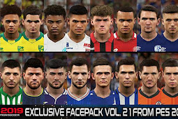 Exclusive Facepack Vol. 21 - PES 2019