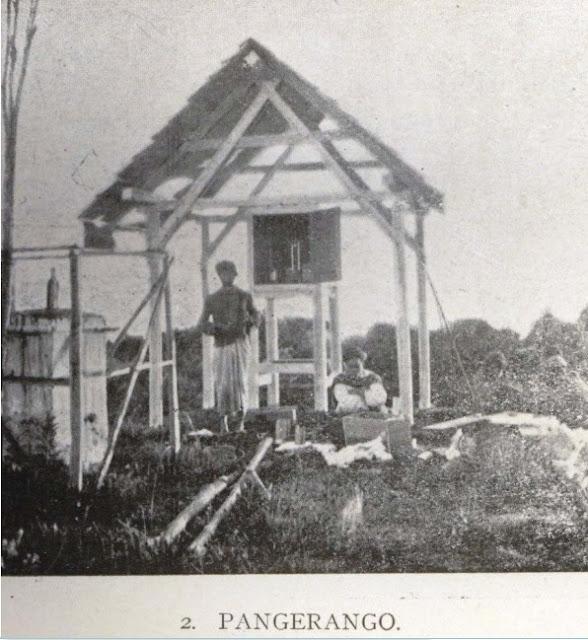 Sangkar Meteorologi jaman Belanda di Pangrango