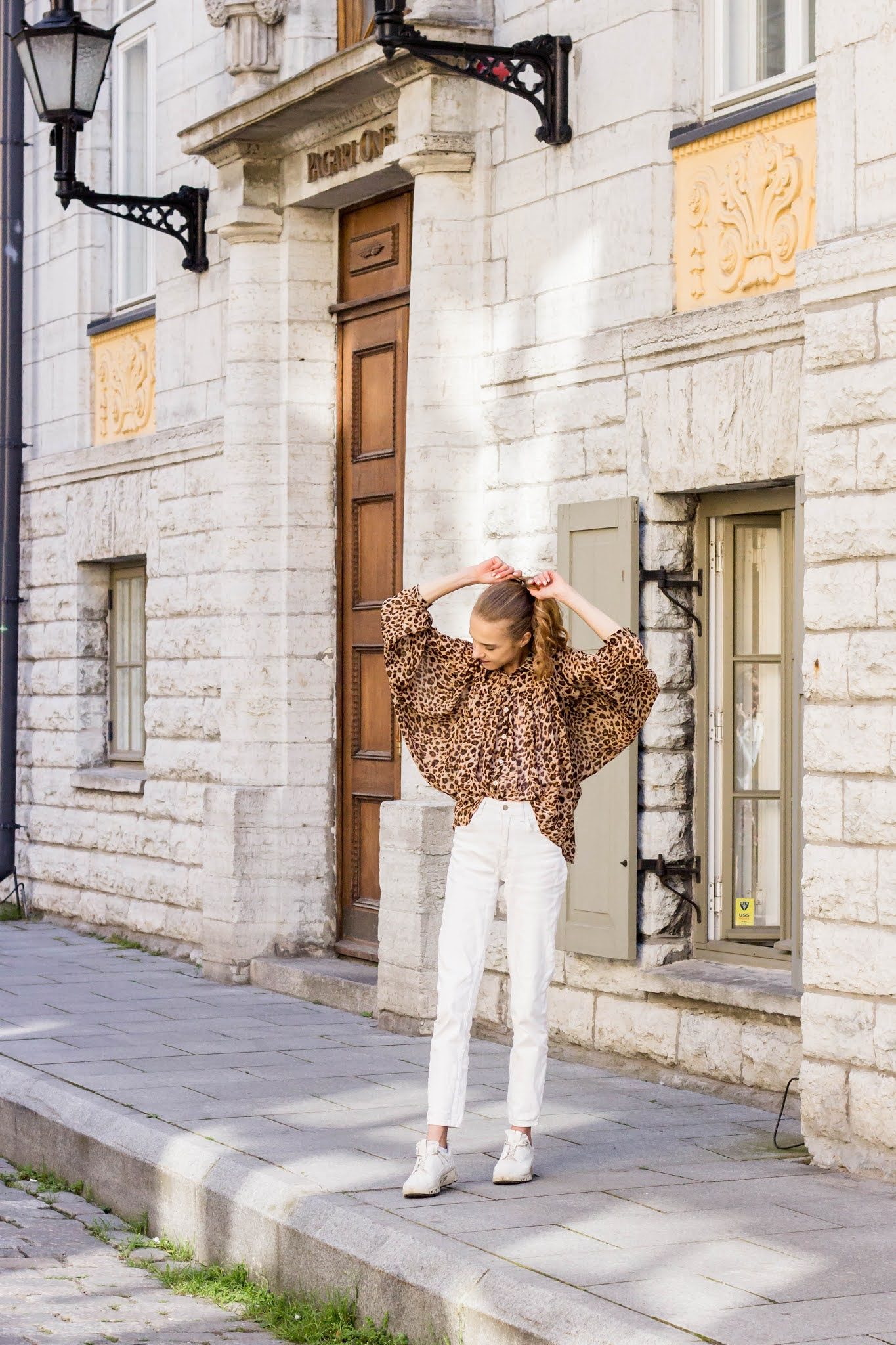 Autumn outfit inspiration with leopard print - Syysmuoti, asuinspiraatio, leopardikuvio
