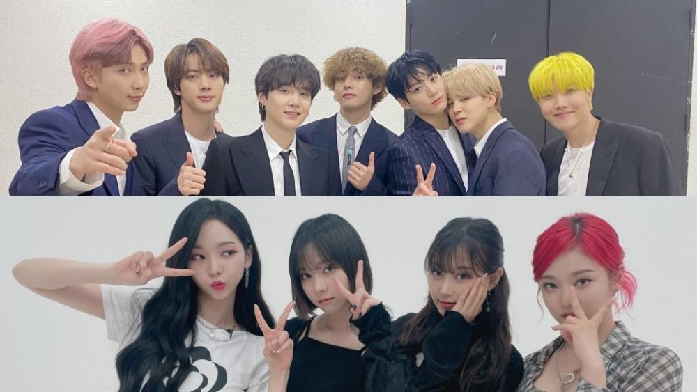 aespa Follows BTS on The 24 Hits Melon Chart