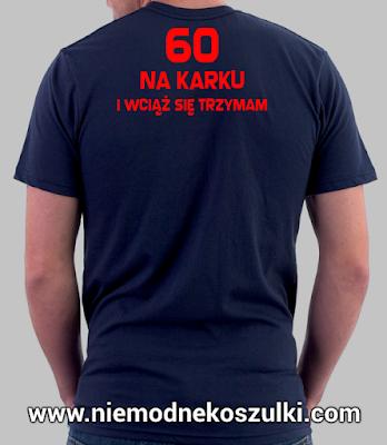 koszulka 60 na karku