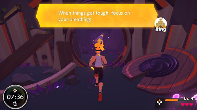 Ring Fit Adventure focus on your breathing Ring