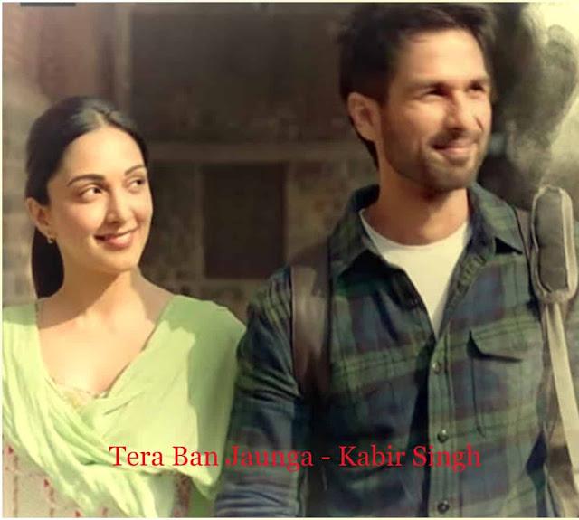 Tera Ban Jaunga Lyrics - Kabir Singh