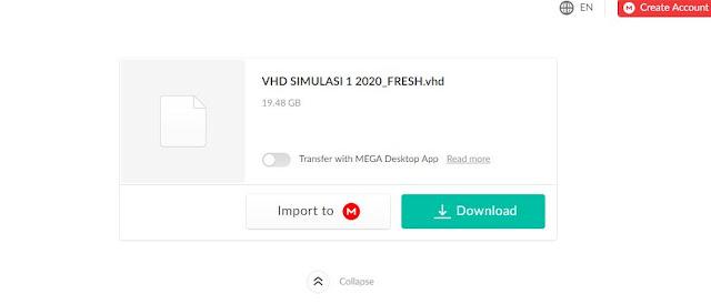 VHD Simulasi 1 UNBK 2019/2020