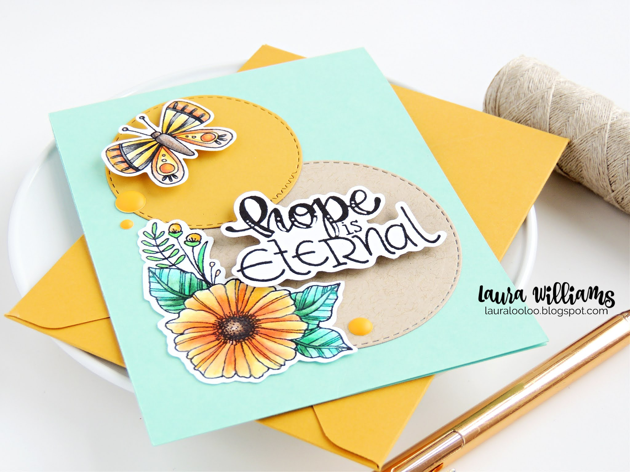 Make a handmade card for Easter or springtime with stamps and dies from Impression Obsession. The Hope is Eternal sentiment stamp is an encouraging sentiment for someone you love. Visit my blog to see more about this idea and others using stamps and dies from IO Stamps.