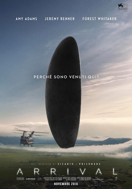 Arrival recensione poster