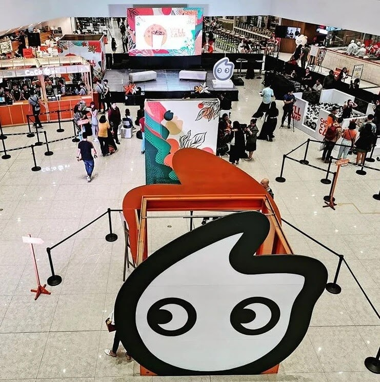 CoCo Opens Three-Day 'CoCo Chill Camp' at SM Megamall
