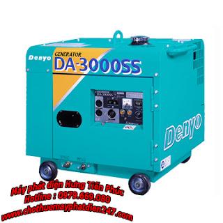 máy phát điện dân dụng denyo