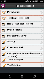 android, aplikasi, tips, sukses, psikotes, download, tes