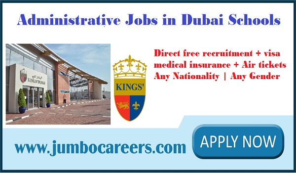 Latest administrative jobs in Dubai for Indians, Find all new jobs in Dubai,