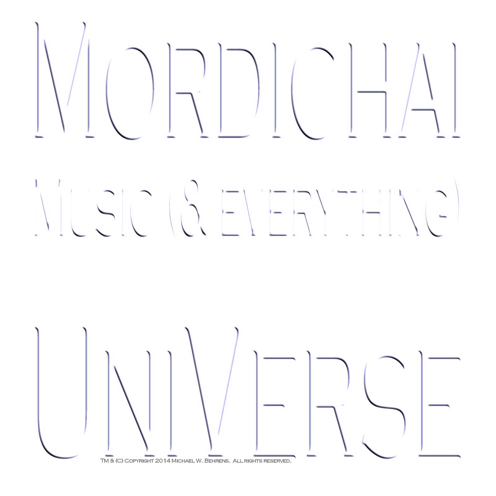 Mordichai Music (& everything) UniVerse RedbluEDream.com