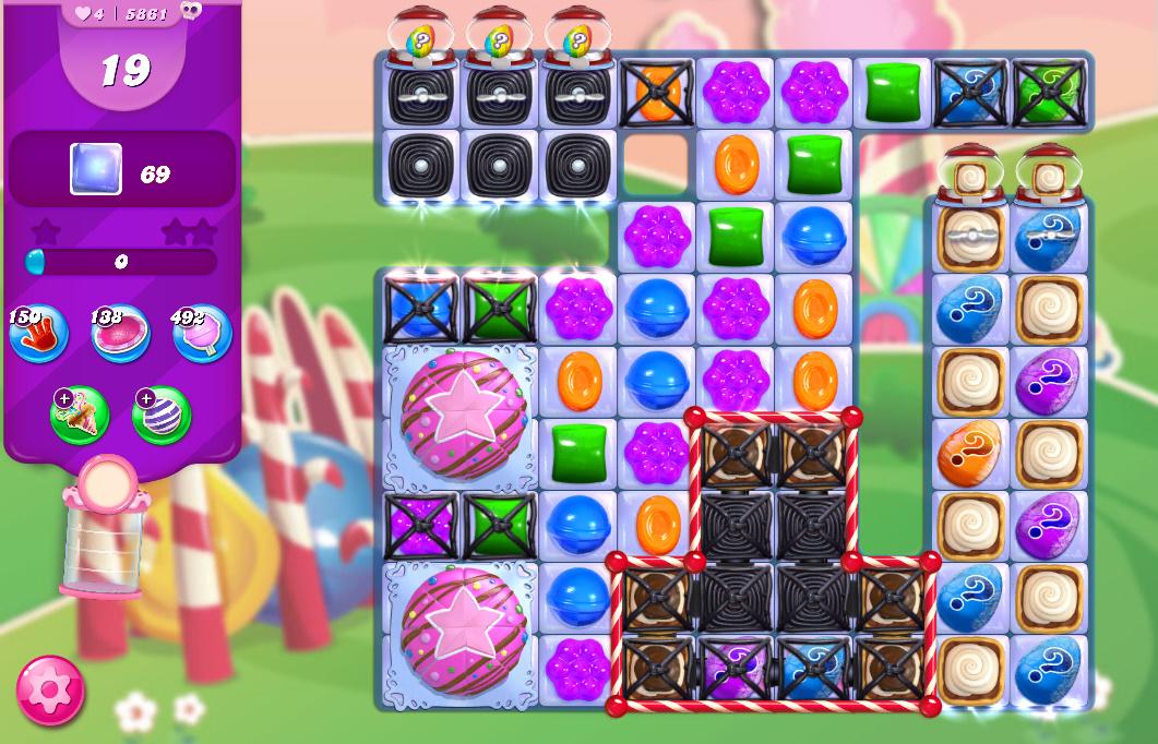 Candy Crush Saga level 5861