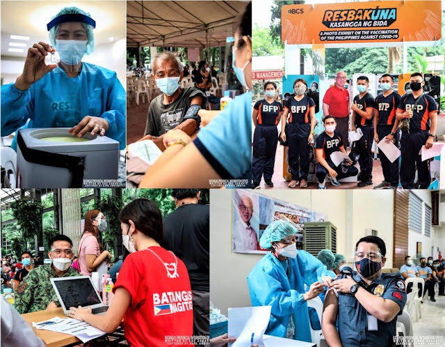 LGU Batangas conducts Special Mass Vaccination for responders, evacuees, and nearby LGUs in Batangas