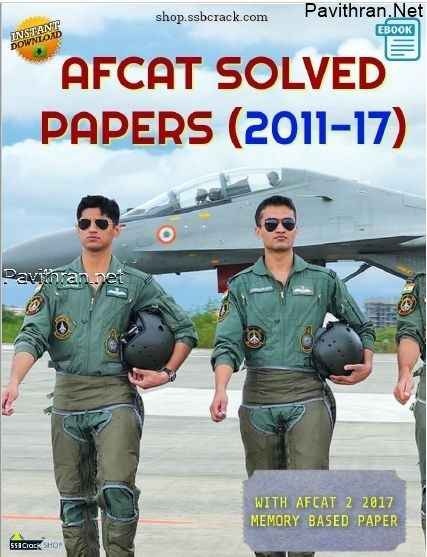 AFCAT Previous Year Solved Papers(2011-2017) pdf download